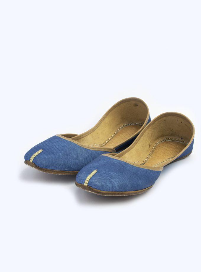 Denim Blue Khussa