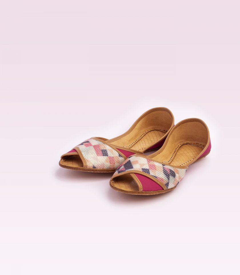 Rosado Pink Khussa
